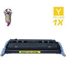 Hewlett Packard Q6002A HP124A Yellow Toner Cartridge Premium Compatible
