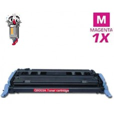 Hewlett Packard Q6003A HP124A Magenta Toner Cartridge Premium Compatible