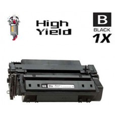 Hewlett Packard Q7551X HP51X High Yield Black Laser Toner Cartridge Premium Compatible