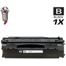 Hewlett Packard Q7553A HP53A Black Laser Toner Cartridge Premium Compatible
