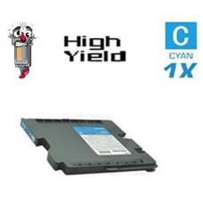 Ricoh 405537 (GC21CH) Cyan Laser Toner Cartridge Premium Compatible