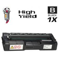 Ricoh 406475 High Yield Black Laser Toner Cartridge Premium Compatible