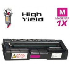Ricoh 406477 High Yield Magenta Laser Toner Cartridge Premium Compatible