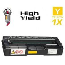 Ricoh 406478 High Yield Yellow Laser Toner Cartridge Premium Compatible