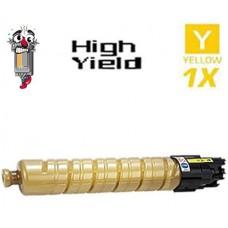 Ricoh 821071 (821106) High Yield Yellow Laser Toner Cartridge Premium Compatible