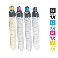 4 PACK Ricoh 84127 combo Laser Toner Cartridge Premium Compatible