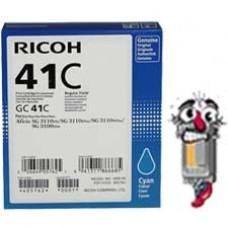 Ricoh GC41C 405762 Cyan Ink Cartridge Premium Compatible