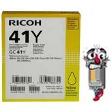 Ricoh GC41Y 405764 Yellow Ink Cartridge Premium Compatible