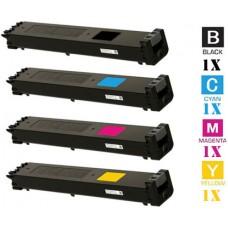 4 Piece Bulk Set Sharp MX23 combo Laser Toner Cartridges Premium Compatible