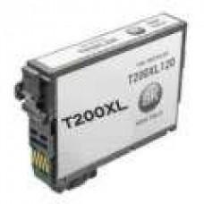 Epson T200XL High Yield Black Inkjet Cartridge Remanufactured