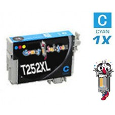 Epson T252XL High Yield Cyan Inkjet Cartridge Remanufactured