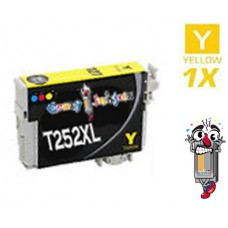 Epson T252XL High Yield Yellow Inkjet Cartridge Remanufactured
