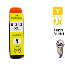 Epson T312XL420 Claria High Yield Yellow Inkjet Cartridge Remanufactured
