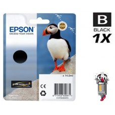 Genuine Original Epson T324120 UltraChrome HG2 Photo Black Ink Cartridge
