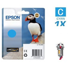 Genuine Original Epson T324220 UltraChrome HG2 Cyan Ink Cartridge
