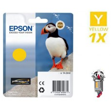 Genuine Original Epson T324420 UltraChrome HG2 Yellow Ink Cartridge