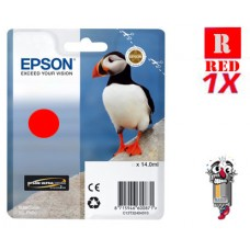 Genuine Original Epson T324720 UltraChrome HG2 Red Ink Cartridge