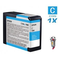 Epson T580200 Cyan Inkjet Cartridge Remanufactured