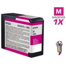 Epson T580300 Magenta Inkjet Cartridge Remanufactured