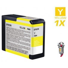 Epson T580400 Yellow Inkjet Cartridge Remanufactured