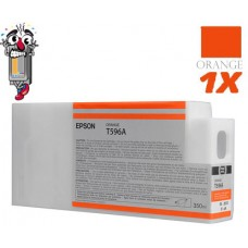 Epson T636A 700 ml Orange Ink Cartridge Remanufactured