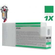 Epson T636B 700 ml Green Ink Cartridge Remanufactured