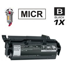 Lexmark T650 T650A11A mICR High Yield Black Laser Toner Cartridge Premium Compatible
