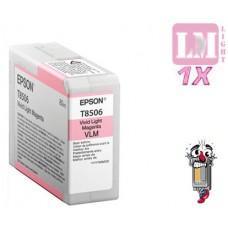 Genuine Epson T850600 UltraChrome Light Magenta Inkjet Cartridge