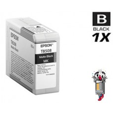 Genuine Epson T850800 UltraChrome HD Matte Black Inkjet Cartridge