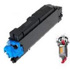 Kyocera Mita TK502C Cyan Laser Toner Cartridge Premium Compatible