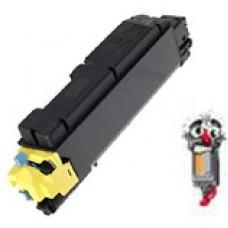 Kyocera Mita TK502Y Yellow Laser Toner Cartridge Premium Compatible