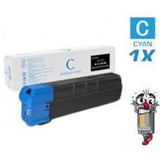 Genuine Kyocera Mita TK8727 Cyan Laser Toner Cartridge Premium Compatible