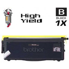 Brother TN570 High Yield Black Laser Toner Cartridge Premium Compatible