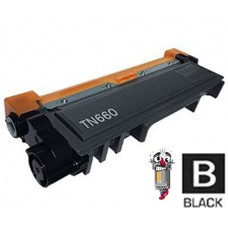 Brother TN660 High Yield Black Laser Toner Cartridge Premium Compatible