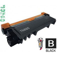 Brother TN660X Jumbo High Yield Black Laser Toner Cartridge Premium Compatible