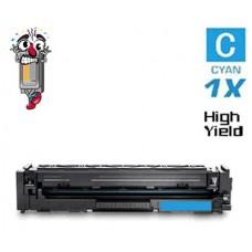 Hewlett Packard HP206X W2111X High Yield Cyan Laser Toner Cartridges Premium Compatible