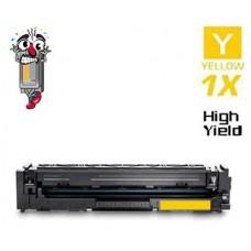 Hewlett Packard HP206X W2112X High Yield Yellow Laser Toner Cartridges Premium Compatible