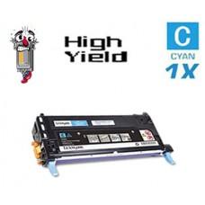 Lexmark X560H2CG High Yield Cyan Laser Toner Cartridge Premium Compatible
