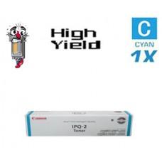 Genuine Original Canon IPQ2 Cyan Laser Toner Cartridg
