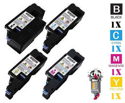 4 Pack Dell 3K9XM FYFKF 5GDTC DG1TR Laser Toner Cartridges