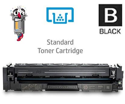 Hewlett Packard CF500A HP202A Black Laser Toner Cartridge