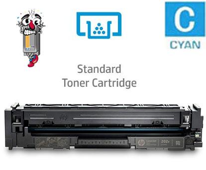 Hewlett Packard CF501A HP202A Cyan Laser Toner Cartridge
