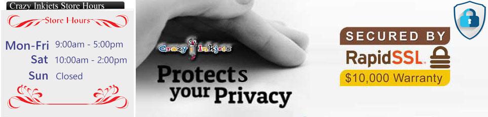 Crazy Inkjets : Privacy Notice
