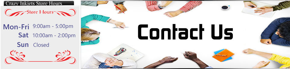 Crazy Inkjets : Contact Us