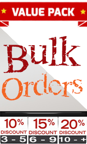 bulk discount with 3 or more order