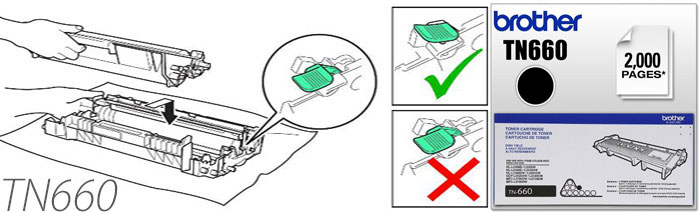 Instruction How To Reset Cartridge For Brother Tn660 Low