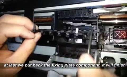 Instruction How to Deep Cleaning a printhead