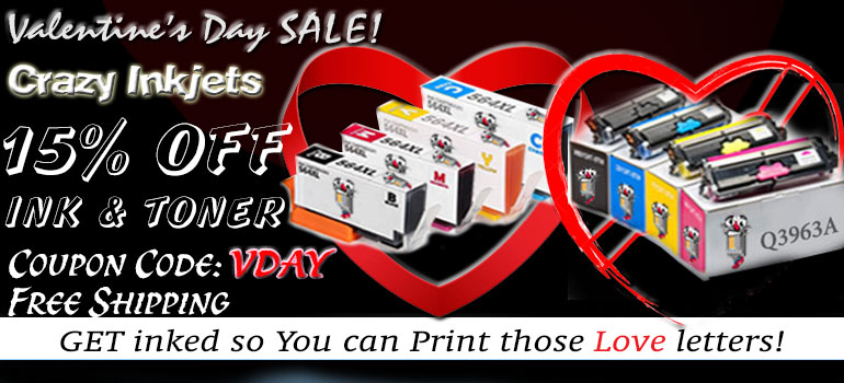 Valentines Day Sale Printer Ink laser toner Get Additional 10% OFF