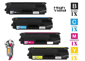 4 Piece Bulk Set Premium Compatible Brother TN336 Toner Cartridges