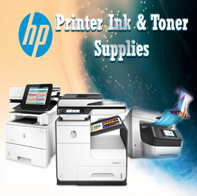 Hewlett Packard printer banner